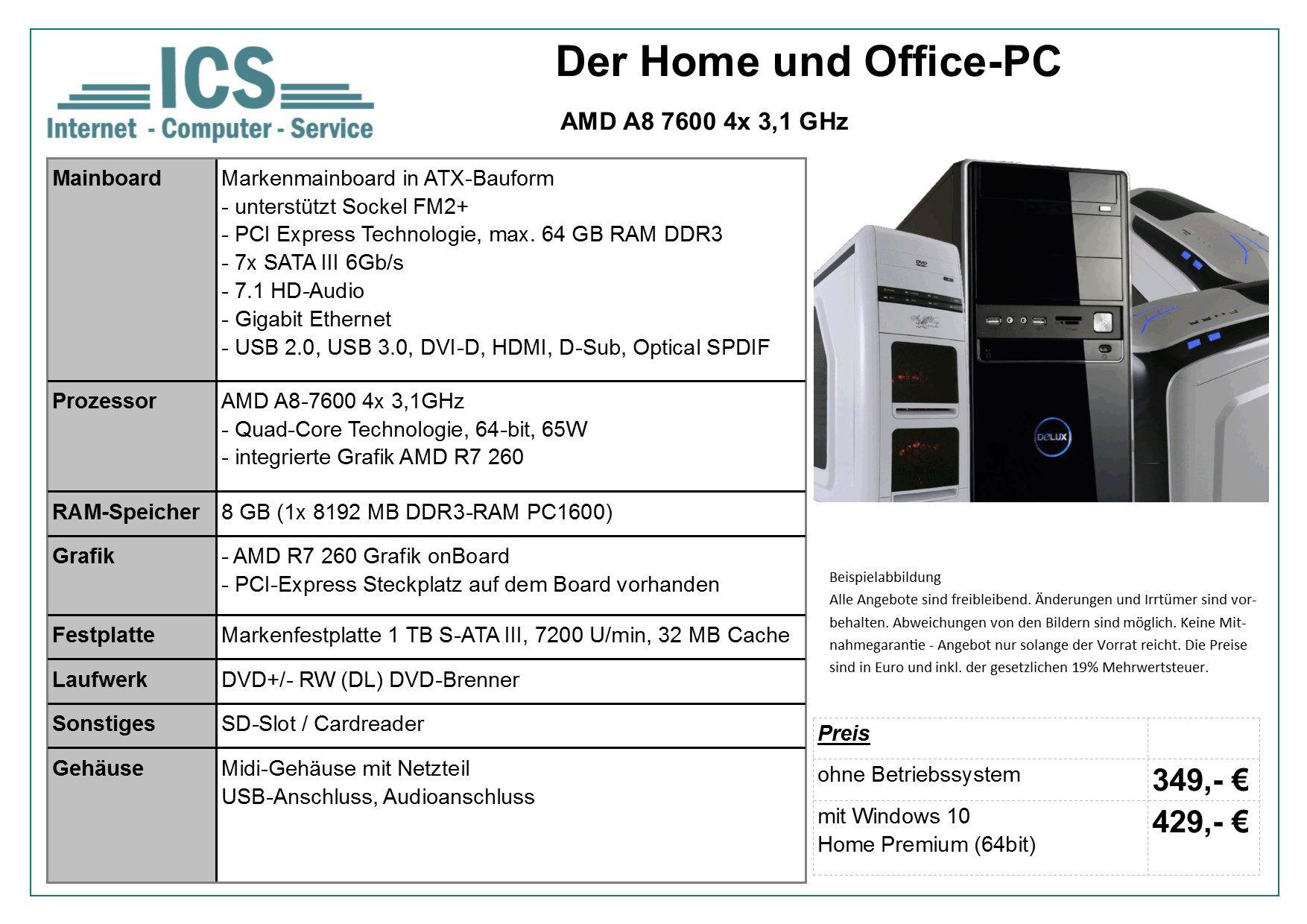 Home- & Office-PC